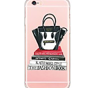 Недорогие -Для Кейс для iPhone 6 / Кейс для iPhone 6 Plus / Кейс для iPhone 5 Ультратонкий / Полупрозрачный Кейс для Задняя крышка Кейс для