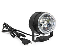 cheap -YWXLIGHT® 360 lm Festoon LED Stage Lights Rotatable 1 leds High Power LED Decorative Sound-Activated RGB AC 85-265V