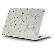 "Case for Macbook 13"" Macbook Air 11""/13"" Macbook Pro 13""/15"" MacBook Pro 13""/15"" with Retina display Flower Plastic Material Small Flower Color"
