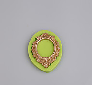 Mirror shape fondant cake chocolate silicone molds decoration tools bakeware Color Random