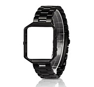 cheap -Watch Band for Fitbit Blaze Fitbit Sport Band Stainless Steel Wrist Strap