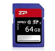 ZP 64GB Cartão SD cartão de memória UHS-I U1 class10
