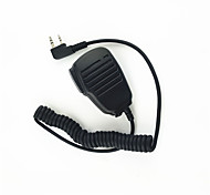 abordables -walkie-talkie hombro micrófono micrófono de sonido claro y soltar resistente adecuado para kendood baofeng tyt 365 wouxun