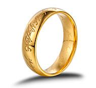 Кольца Винтаж / Панк / Стиль / Прочный / Мода Свадьба / Для вечеринок / Повседневные / Спорт Бижутерия Титановая сталь Мужчины
