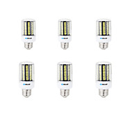 8W E14 B22 E26/E27 LED Corn Lights B 136 SMD 5733 750-800 lm Warm White Cold White K Decorative AC 220-240 V