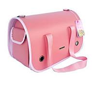 Кошка Собака Переезд и перевозные рюкзаки Слинг Животные Корпусы Компактность Дышащий Розовый