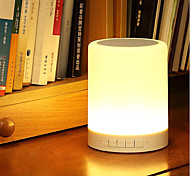 cheap -jiawen Intelligent wireless Bluetooth 4.0 music speaker LED desk lamp DC 5V  Music Player Dimmable Nightlight