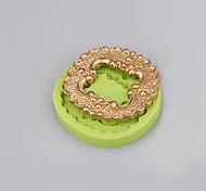 Инструмент для украшения формы торта формы силикона сбывания handmade случайный цвет мыла формы случайный