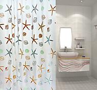 Moderno Poliéster - Alta calidad Cortina de baño