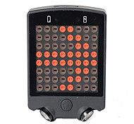 Bike Lights LED LED Cycling Remote Control Rechargeable Compact Size Emergency Lithium Battery 50~100 Lumens USB Battery