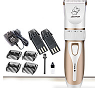 cheap -Cat Dog Grooming Clipper & Trimmer Wireless Low Noise Electric Rechargeable Gold
