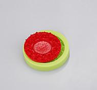 DIY ручной работы пресс-формы торты украшения мыла формы силиконовый торт формы круглой формы формы ramdon цвета