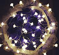 Недорогие -100-led 10m роз светлый водонепроницаемый штекер открытый праздник украшения свет вел свет строки