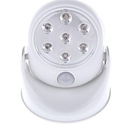 cheap -1pc 400lm LED Spotlight 7 LED Beads Integrate LED Sensor Cold White