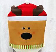 1pcs New Arrival Christmas Chair Covers 50*60cm Christmas Decorations Navidad Adornos Dinner Decor Chair Sets Gift