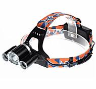 U'King ZQ-X821 Lanternas de Cabeça Faixa Para Lanterna de Cabeça LED 5000LM Lumens 4.0 Modo Cree XM-L T6 Baterias não incluídas