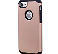 Недорогие -Для Защита от удара Кейс для Задняя крышка Кейс для Один цвет Твердый PC AppleiPhone 7 Plus / iPhone 7 / iPhone 6s Plus/6 Plus / iPhone