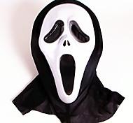 Маски на Хэллоуин Игрушки Лицо призрака Тема ужаса 1 Куски Halloween Маскарад Подарок