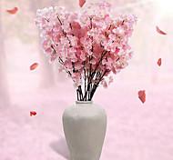 Недорогие -Искусственные Цветы 1 Филиал Простой стиль Сакура Букеты на стол