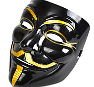 cheap -Halloween Masks Masquerade Masks Toys Movie Character Plastic PVC Horror Theme 1 Pieces Halloween Masquerade Gift