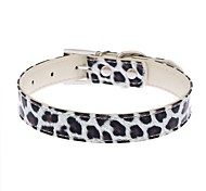 Fashion PU Leopard Pets Collars for Pets Dogs(Assorted Sizes and Colours)