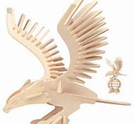 Пазлы Деревянные пазлы Строительные блоки DIY игрушки Eagle 1 Дерево Со стразами