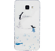 For Samsung Galaxy A3 (2016) A5 (2016) Dolphin Pattern Tpu Material Highly Transparent Phone Case