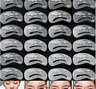 24pcs Selling Device Tools Aid Eyebrow Eyebrow Thrush Cosmetic Beauty Care Makeup for Face