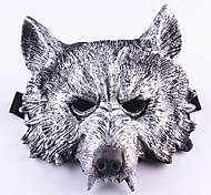 cheap -Halloween Masks Masquerade Masks Toys Wolf Head Rubber Horror Theme 1 Pieces Halloween Gift