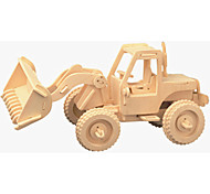 Puzzles de Madera Carros de juguete Juguetes Elevadora Nivel profesional Chico Chica 1 Piezas