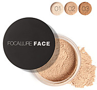 FOCALLURE 3 Colors Loose Powder Cosmetic Beauty Care Makeup for Face