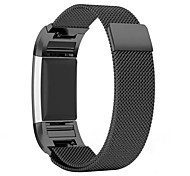 Smart Bracelet High Quality Stainless Steel Strap Magnetic Milanese Loop Band for Fitbit Charge 2