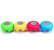 cheap -Water Resistant Mini Portable Shower Bluetooth Speaker with Sucker Support Hands-free Calls Function