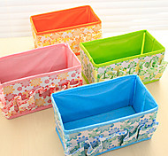cheap -Jewelry Organizers Jewelry Boxes Desktop Receive A Case Fashion Cotton Cloth (Random Colours)