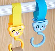 cheap -Textile Plastic Open Travel Shopping Home Organization, 1set Hooks Novelty Hooks