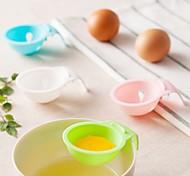 1 Piece Funnel For Egg Plastic Creative Kitchen GadgetRandom color