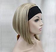 Недорогие -Искусственные волосы парики Прямой силуэт Стрижка боб Карнавальный парик Парик для Хэллоуина Короткие Черный как смоль # 6 # 10 L16-613