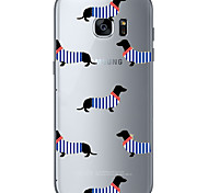 For Samsung Galaxy S6 Edge Plus S6 Dog 1 Soft Material For Compatibility TPU For Samsung Galaxy S6 Edge Plus S6 S7 Edge S7