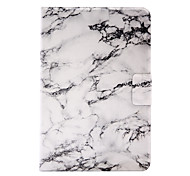 For Apple iPad Mini 4  iPad Mini 3 2 1 Marble Pattern Stent Card PU Leather Material Flat Protective Shell