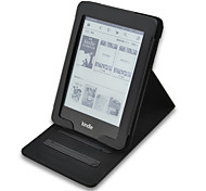 Hand-Hold Leather Cover Case For Amazon 2014 New Kindle Touch 7 7TH Generation EBooks Ereader