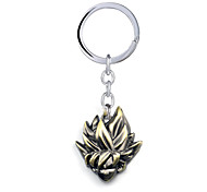 Inspired by Dragon Ball Goku Anime Cosplay Accessories Keychain Golden Alloy