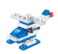 Display Model For Gift  Building Blocks Model & Building Toy Helicopter Plastic 5 to 7 Years / 8 to 13 Years / 14 Years & Up Navy Toys