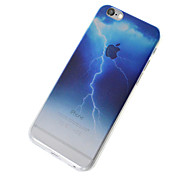 cheap -Case For Apple iPhone 5 Case iPhone 6 iPhone 7 Translucent Back Cover sky Scenery Soft TPU for iPhone 7 Plus iPhone 7 iPhone 6s Plus