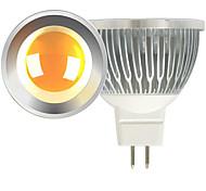 светодиодный прожектор mr16 1 cob 600lm теплый белый холодный белый 2700-3000k / 6000-6500k dc 12v