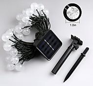 economico -JIAWEN Fili luminosi 30 LED Bianco caldo Colori primari Bianco Impermeabile