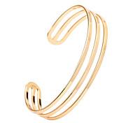 Женский Браслет цельное кольцо Браслет разомкнутое кольцо Регулируется Открытые бижутерия Сплав Бижутерия Назначение Свадьба Для