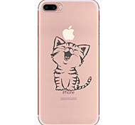 For iPhone X iPhone 8 iPhone 7 iPhone 7 Plus iPhone 6 Case Cover Pattern Back Cover Case Cat Soft TPU for Apple iPhone X iPhone 8 Plus