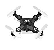 abordables -RC Dron FQ777 FQ11W 4 Canales 6 Ejes 2.4G Con la cámara de 0,3 MP HD 648*480 Quadccótero de radiocontrol  FPV Retorno Con Un Botón Modo