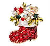 cheap -Women's Cross Brooches - Fashion / Christmas Rainbow Brooch For Party / Special Occasion / Birthday
