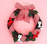 Рождественский венок хвою рождественские украшения для диаметра домашней партии 25см NAVIDAD новых поставок в год